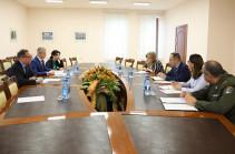 Հայաստան է այցելել Ավստրիայի պաշտպանության նախարարության պատվիրակությունը
