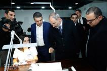Премьер-министр присутствовал на церемонии открытия ювелирного завода