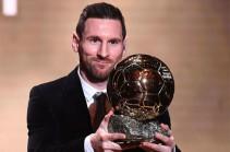 Месси получил 6-й «Золотой мяч». Это рекорд