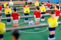 Սեղանի ֆուտբոլը Հայաստանում պաշտոնապես գրանցվել է որպես մարզաձև