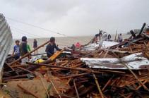 Ֆիլիպիններում  «Տիսոյ» թայֆունը խլել է 17 մարդու կյանք