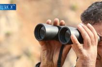 OSCE conducts monitoring on the border of Artsakh and Azerbaijan