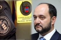 Բերման են ենթարկվել Արայիկ Հարությունյանի տեղակալը, նրա վարորդն ու ՀՀ ֆուտբոլային ակումբներից մեկի նախագահը. ԱԱԾ