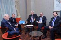 В Братиславе началась встреча главы МИД Армении с сопредседателями Минской группы ОБСЕ