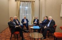 В Братиславе началась встреча глав МИД Армении и Азербайджана