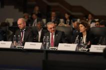 Armenia's FM presents Armenia's position over peaceful settlement of Karabakh conflict