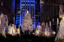 Նյու Յորքի սուրբծննդյան տոնածառի լույսերը վառվել են
