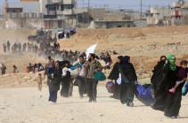 Более двух тысяч беженцев вернулись в Сирию из-за рубежа за сутки