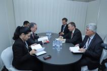 Զոհրաբ Մնացականյանն ու ԵՄ հատուկ ներկայացուցիչը քննարկել են ԼՂ հակամարտության խաղաղ կարգավորման գործընթացը