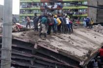 В Найроби рухнуло шестиэтажное здание