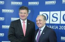 Հայաստանի ԱԳ նախարարը և ԵԱՀԿ գործող նախագահը կարևորել են խաղաղությանը նպաստող քայլերի ձեռնարկումը