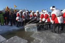 В Харбине открылся Фестиваль льда и снега (Видео)