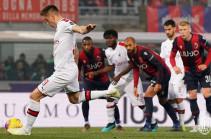 «Милан» одержал две победы подряд впервые с сентября