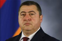 Саак Оганян назначен начальником военно-медицинского управления Минобороны
