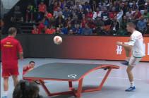 Պինգ պոնգի և ֆուտբոլի միաձուլում (Տեսանյութ)