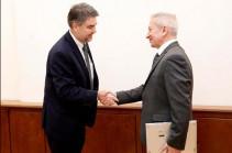 Ատոմ Ջանջուղազյանն ընդունել է ԱՄՀ հայաստանյան առաքելության ղեկավարին