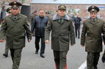 Начальник Генштаба ВС Армении посетил Центральный сборный пункт