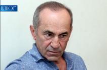 Ղարաբաղի վզին փաթաթված սցենար է երևում, որն իրականացվում է Հայաստանի իշխանությունների մասնակցությամբ. Քոչարյան (Hraparak)