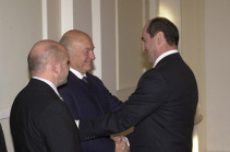 Robert Kocharyan sends letter of condolences on death of former mayor of Moscow Yuri Luzhkov