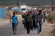 Более 850 беженцев вернулись в Сирию из-за рубежа за сутки