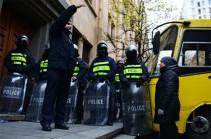 Թբիլիսիում բողոքի ակցիայի ընթացքում 16 մարդ է բերման ենթարկվել