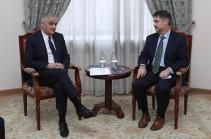 Փոխվարչապետ Մհեր Գրիգորյանն ընդունել է ԱՄՀ հայաստանյան առաքելության ղեկավարին