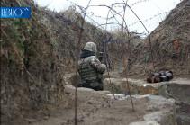 Շաբաթվա ընթացքում հակառակորդը հայ դիրքապահների ուղղությամբ արձակել է շուրջ 1500 կրակոց