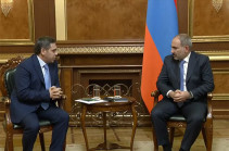 Armenia's PM stresses importance of depoliticizing football at the meeting with newly elected AFF president