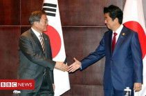 South Korea-Japan summit sees hope for better relations