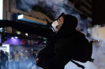 Hong Kong protests: Christmas Eve rallies lead to clashes