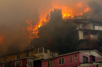 Valparaíso wildfire: Raging forest fires engulf Chilean city
