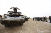 ՀՀ զինված ուժերը համալրվել են Օսա-ԱԿ զենիթահրթիռային համալիրներով (Լուսանկարներ)