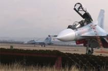 Истребители Су-30СМ поступили на вооружение ВС Армении (Видео)