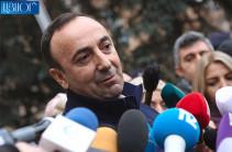 Hrayr Tovmasyan refused to give testimonies