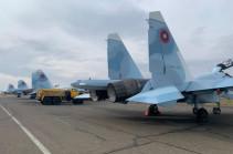 В Армению доставлено четыре истребителя Су-30СМ