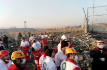 Existence of Armenian citizens onboard crashed Ukrainian plane specified: Armenia's MFA