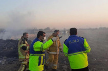 All passengers and crew killed in Ukrainian plane crash near Tehran