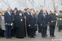 State officials pay tribute to the memory of victims of Baku pogroms (photos)