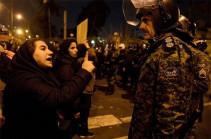 В Иране в ходе протестов задержали около 30 человек