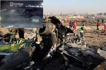 NYT показала видео возможного попадания двух ракет в украинский Boeing