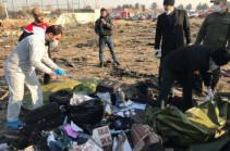Расшифровка черных ящиков сбитого в Иране самолета начнется в Киеве 20 января
