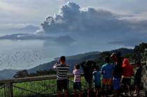 Ֆիլիպիններում հրաբխի պատճառով 14 քաղաք է փակվել տեղի բնակիչների համար
