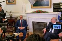 Хафтар проводит переговоры с главой МИД Греции