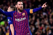 Месси забил 250-й гол на «Камп Ноу» в Ла Лиге. У Роналду 178 – на «Бернабеу»
