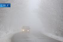ՀՀ տարածքում կան դժվարանցանելի ավտոճանապարհներ. վարորդներին խորհուրդ է տրվում երթևեկել բացառապես ձմեռային անվադողերով