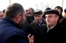 Жители села Мхчян вышли на акцию протеста: Разве мы за это боролись?