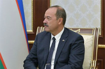 Ուզբեկստանի խորհրդարանը հաստատել է Արիպովին վարչապետի պաշտոնում