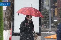 Առաջիկա օրերին մայրաքաղաքում սպասվում է ձյուն