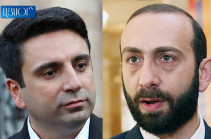 Alen Simonyan receives reprimand from NA speaker