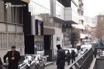 В гостинице «Эребуни плаза» в Ереване произошла стрельба